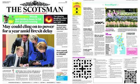The Scotsman – April 11, 2019