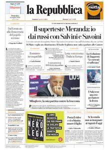 la Repubblica – 14 luglio 2019