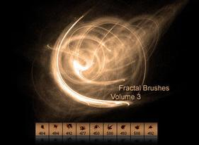 Fractal Brushes for Photoshop