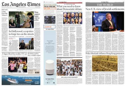 Los Angeles Times – November 19, 2019