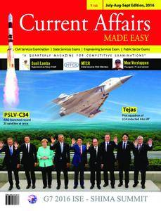 Current Affairs Made Easy - July 2016