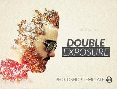 GraphicRiver - Double Exposure Photoshop Template