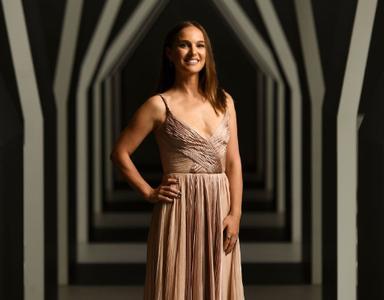Natalie Portman at National Gallery of Victoria on December 1, 2018 in Melbourne, Australia