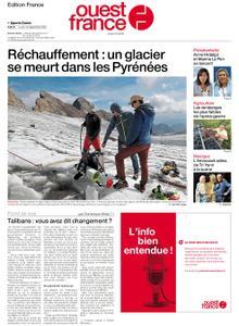 Ouest-France Édition France – 13 septembre 2021