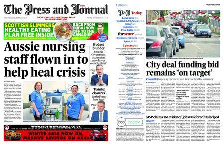 The Press and Journal Moray – January 22, 2018