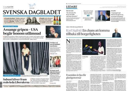 Svenska Dagbladet – 12 april 2019
