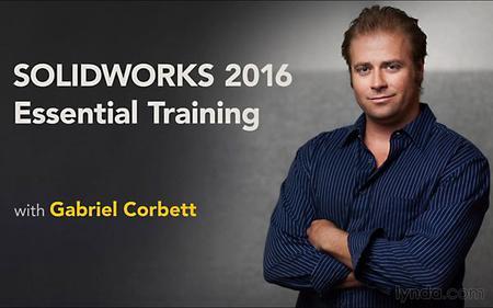 Lynda - SolidWorks 2016 Essential Training [repost]