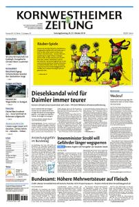 Kornwestheimer Zeitung - 20. Oktober 2018