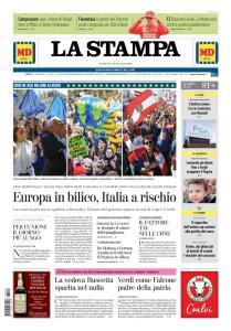 La Stampa Torino Provincia e Canavese - 26 Maggio 2019