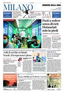 Corriere della Sera Milano – 01 agosto 2020