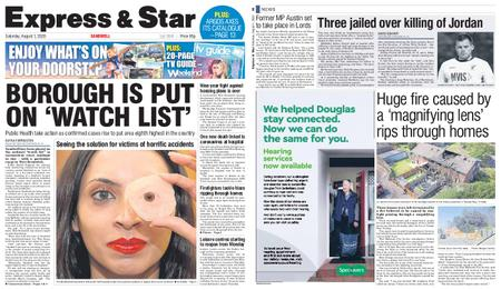 Express and Star Sandwell Edition – August 01, 2020
