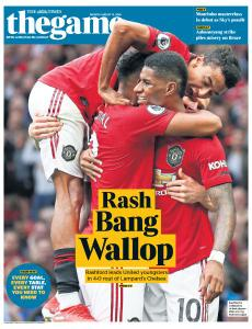 The Times - The Game - 12 August 2019