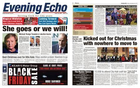 Evening Echo – November 24, 2017