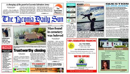 The Laconia Daily Sun – August 04, 2020