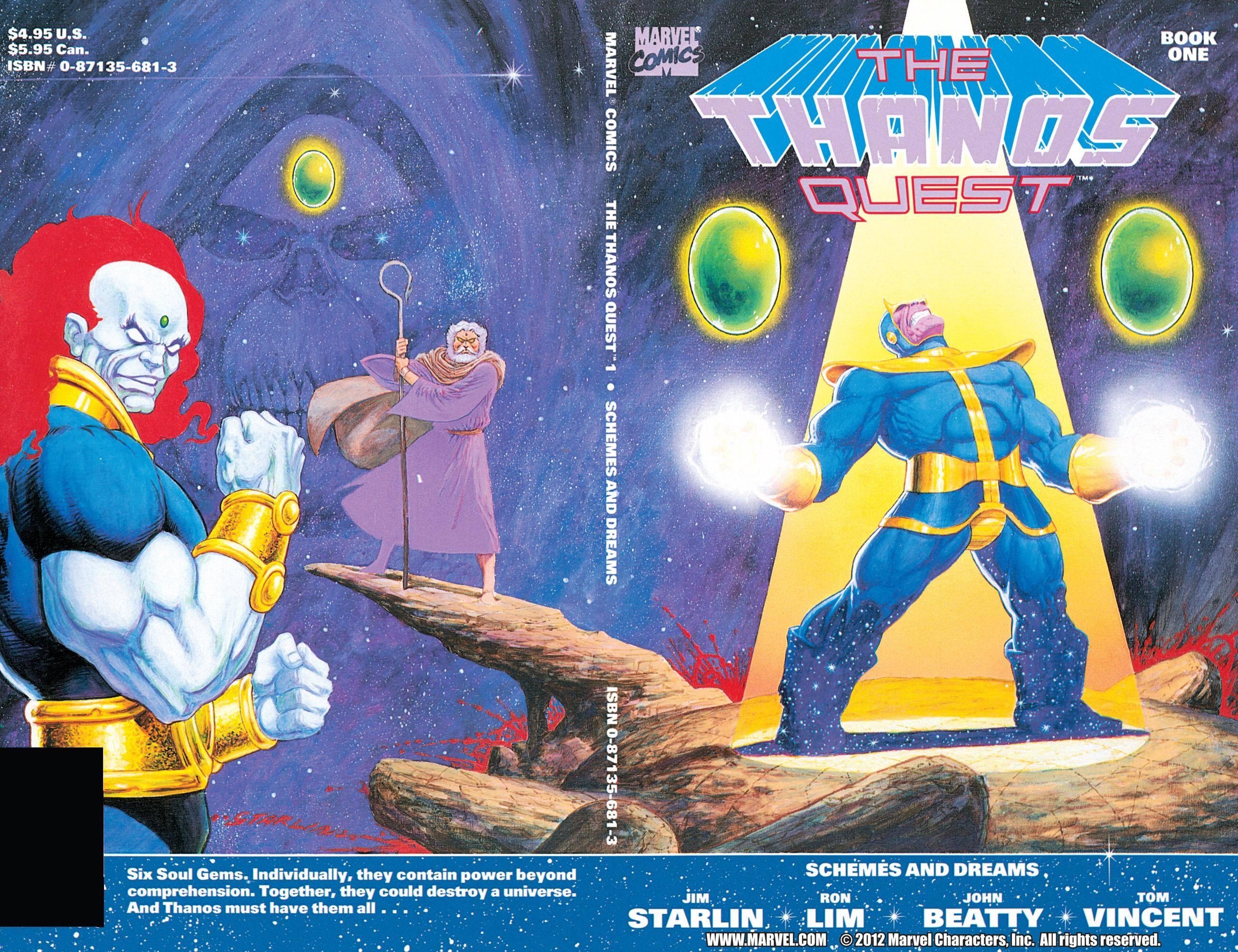 The Thanos Quest 001 1990 Digital