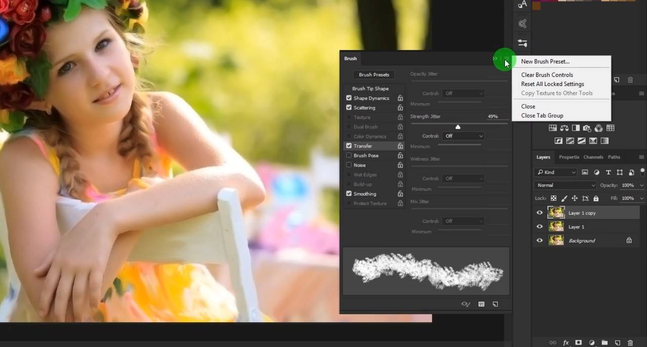Digital Painting Effect in Adobe Photoshop