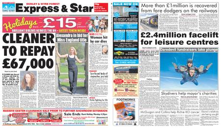 Express and Star Dudley and Wyre Forest Edition – April 17, 2019