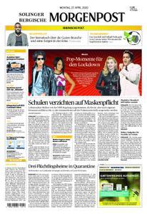 Solinger Morgenpost – 27. April 2020