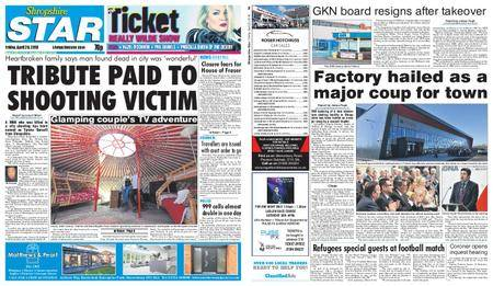 Shropshire Star Shrewsbury Edition – April 20, 2018