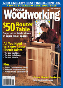 Popular Woodworking Magazine Issue 122