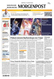 Solinger Morgenpost – 27. Januar 2020