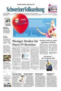Schweriner Volkszeitung Hagenower Kreisblatt - 21. April 2018