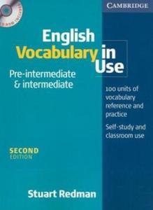English Vocabulary in Use Pre-Intermediate and Intermediate Book