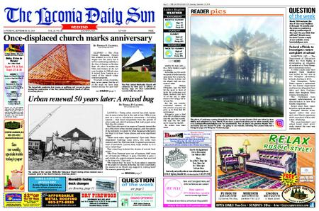 The Laconia Daily Sun – September 28, 2019