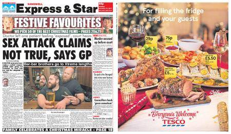 Express and Star Sandwell Edition – December 19, 2017
