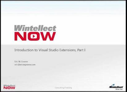Introduction to Visual Studio Extensions, Part 1
