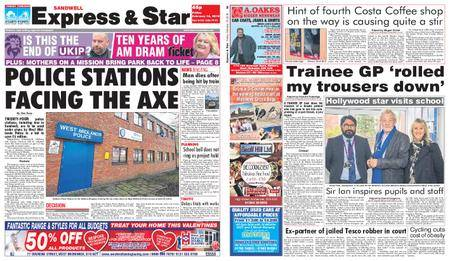 Express and Star Sandwell Edition – February 16, 2018