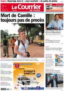 Le Courrier de l'Ouest Angers - 15 mai 2018