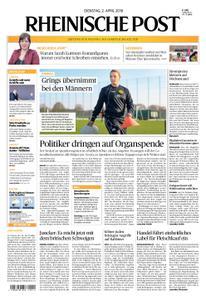 Rheinische Post – 02. April 2019