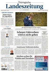 Thüringische Landeszeitung Unstrut-Hainich-Kreis - 03. April 2018