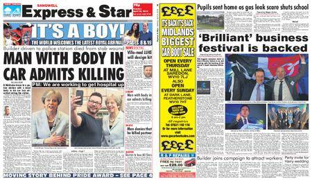 Express and Star Sandwell Edition – April 24, 2018