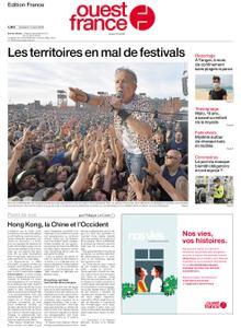 Ouest-France Édition France – 14 août 2020
