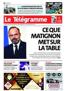 Le Télégramme Brest – 20 décembre 2019