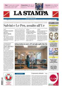 La Stampa Imperia e Sanremo - 9 Ottobre 2018