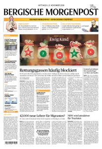 Solinger Morgenpost – 21. November 2018