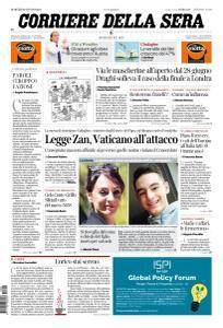 Corriere della Sera - 22 Giugno 2021