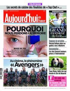 Aujourd'hui en France – 25 avril 2018