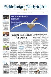 Schleswiger Nachrichten - 11. November 2019