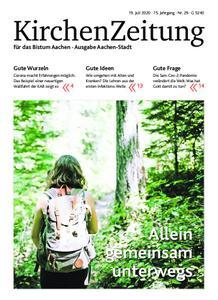 KirchenZeitung für das Bistum Aachen – 19. Juli 2020