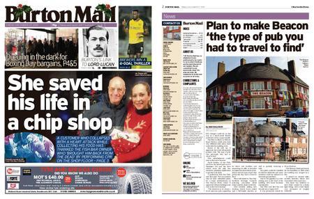 Burton Mail – December 27, 2019