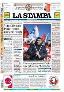 La Stampa Torino Provincia e Canavese - 20 Febbraio 2018