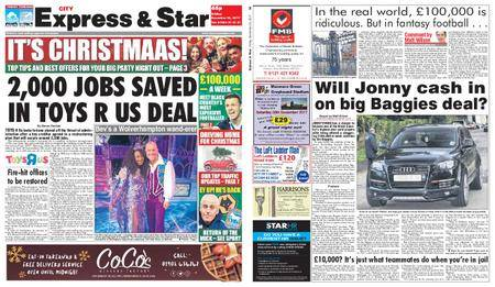 Express and Star City Edition – December 22, 2017