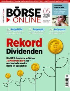 Börse Online - 01. Februar 2018