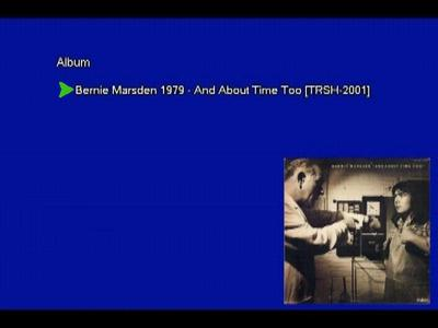 Bernie Marsden - And About Time Too (1979) [Vinyl Rip 16/44 & mp3-320 + DVD]