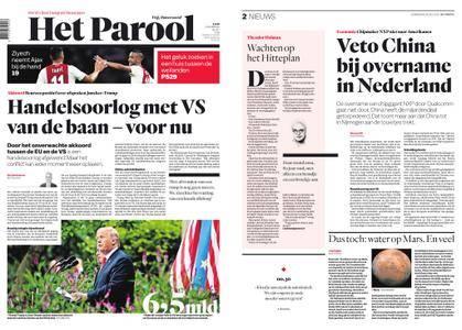 Het Parool – 26 juli 2018