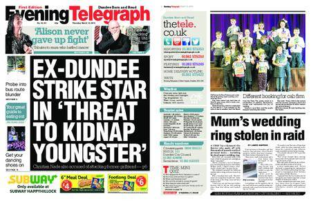 Evening Telegraph First Edition – March 15, 2018